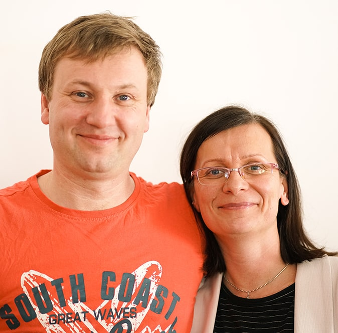 Tadeusz i Malwina Lisieccy