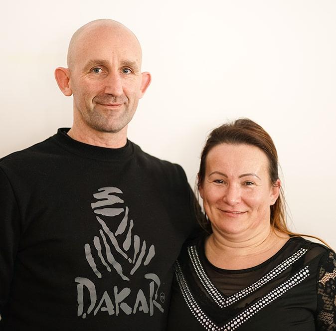 Norbert i Anita Marczyńscy